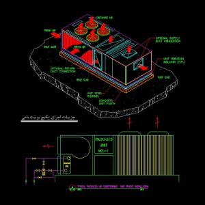 Packaged-Unit-Autocad-Detail