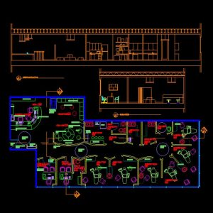 Dental Clinic Autocad plan