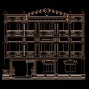 Roman View Autocad Project