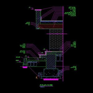 Stair-Autocad-Detail