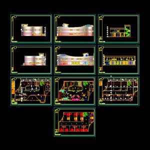 Hotel Architecture Autocad Plan 04 - www.IranDWG.com.jpg