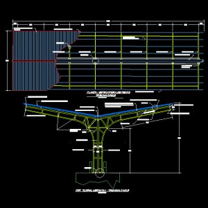 Parking Structural Autocad Plan - www.IranDWG.com.jpg