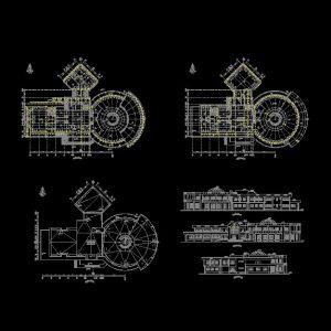 Library Autocad Plan - www.IranDWG.com