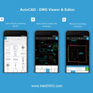 AutoCAD - DWG Viewer & Editor - www.IranDWG.com