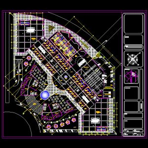 Commercial Complex Autocad Plan - www.IranDWG.com.jpg