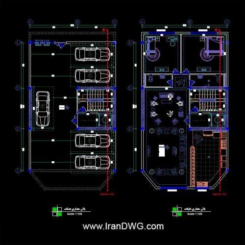 مجموعه بینظیر بلاک فول داینامیک اتوکد طراحی شده توسط IranDWG مجموعه جامع بلاک و مبلمان فول داینامیک برای افزایش شگفت انگیز سرعت کار در اتوکد