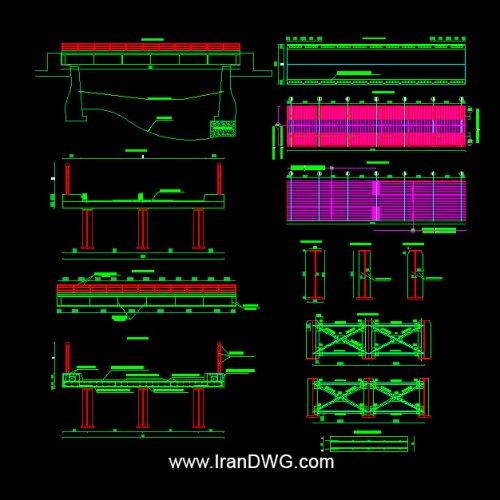 آلبوم نقشه های سازه پل هوایی