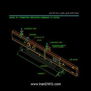 جزییات اجرایی مهتابی سقفی در سازه های صنعتی