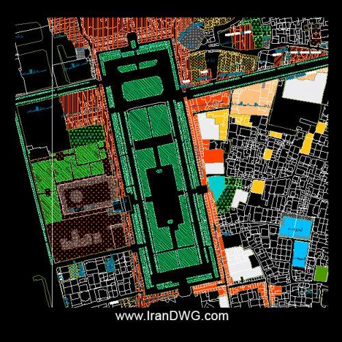 آلبوم نقشه های سایت میدان نقش جهان اصفهان