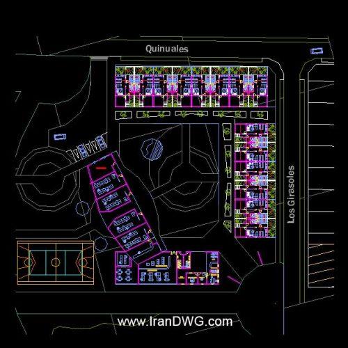 آلبوم نقشه های معماری خانه سالمندان