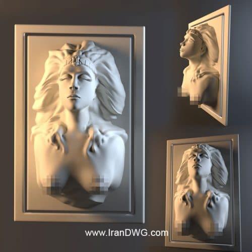 آبجکت تری دی مکس مجسمه رومی باکیفیت شماره 1