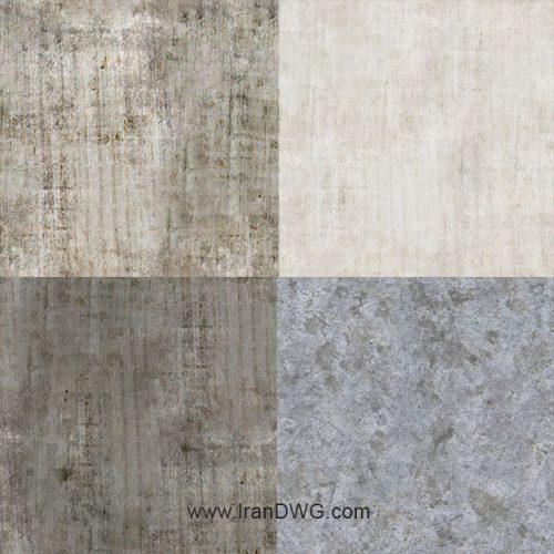مجموعه تکسچر با کیفیت بتن شماره 1 در طرح های مختلف ( 5 طرح متنوع )
