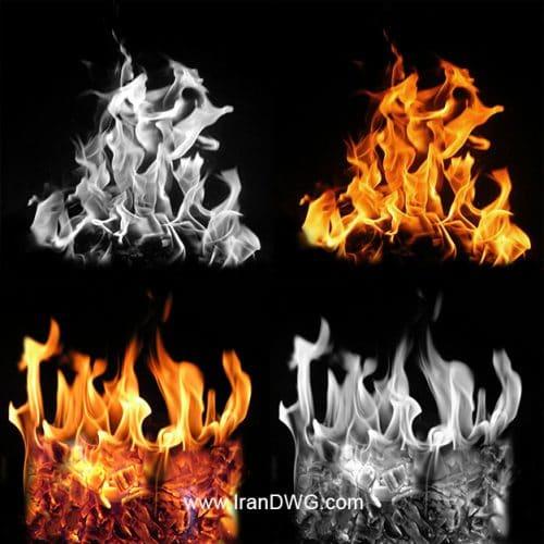 مجموعه تکسچر با کیفیت آتش شماره 1 در طرح های مختلف ( 10 طرح متنوع )