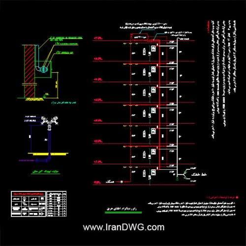 پک جامع نقشه و دیتیل اتوکد سیستم اطفای حریق اجرایی ساختمان شامل : پلان اطفای حریق فول داینامیک برای طراحی سیستم اطفای حریق ساختمان رایزردیاگرام فول داینامیک برای طراحی سیستم اطفای حریق انواع کاربری ها دیتیل های اجرایی اتوکد انواع اسپرینکلر ها و جدول مشخصات حرارتی دیتیل های اجرایی اتوکد سیستم لوله کشی اطفای حریق و سایز بندی آنها توضیحات اجرایی سیستم اطفای حریق و نحوه نصب و لوله کشی سیستم اطفای حریق دیتیل های اجرایی اتوکد انواع تجهیزات اطفای حریق ساختمان جدول راهنمای علایم و تجهیزات تاسیسات اطفای حریق ساختمان با توجه به آخرین ویرایش های ضوابط آتشنشانی