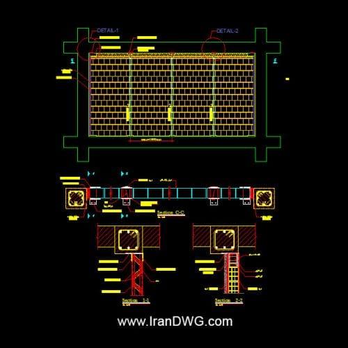 کلیه دیتیل ها و جزییات اجرایی میانقاب ها در سازه های فولادی و بتنی کلیه دیتیل ها و جزییات اجرایی وال پست ها در سازه های فولادی و بتنی کلیه دیتیل ها و جزییات اجرایی اتصال و مهار دیوار ها گسسته و ... دیتیل ااتصال اتواع دیوار ها ( بلوک ، آجر و ... ) به انواع سقف ها ( کامپوزیت ، تیرچه و ... ) تهیه شده توسط شکت مهندسین مشاور برای سازمان نوسازی مدارس