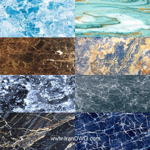 مجموعه تکسچر سنگ Marble و سنگ مرمر در طرح های مختلف ( 20 طرح متنوع )