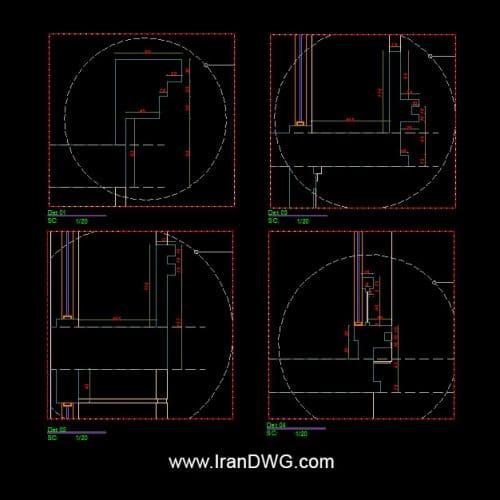 آلبوم جامع نقشه های اجرایی نمای کلاسیک به همراه پلان های معماری و تصاویر اجرایی شامل : نقشه اتوکد نمای اجرایی به سبک کلاسیک نقشه اتوکد پلان اجرایی معماری با ابعاد 11*17 ( عرض 11 و طول 17 ) نقشه اتوکد نمای اجرایی سردر ورودی ساختمان به سبک کلاسیک نقشه اتوکد اجرایی طراحی معماری داخلی و پارکینگ تصاویر اجرا شده نمای ساختمان کلیه جزییات و دیتیل های اجرایی اتوکد برشکاری سنگ ها و متریال طراحی شده توسط سامانه آنلاین طراحی ساختمان ایران   www.OnlineDWG.com